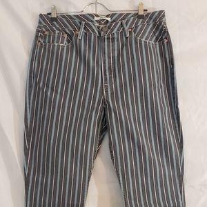 GRLFRND Karolina High Waist Crop Skinny Jeans